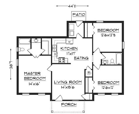 construction house plans j1301 house plans by plansource inc