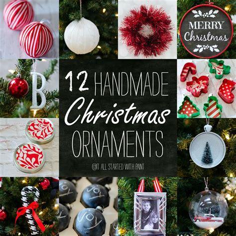 handmade ornament ideas handmade ornaments