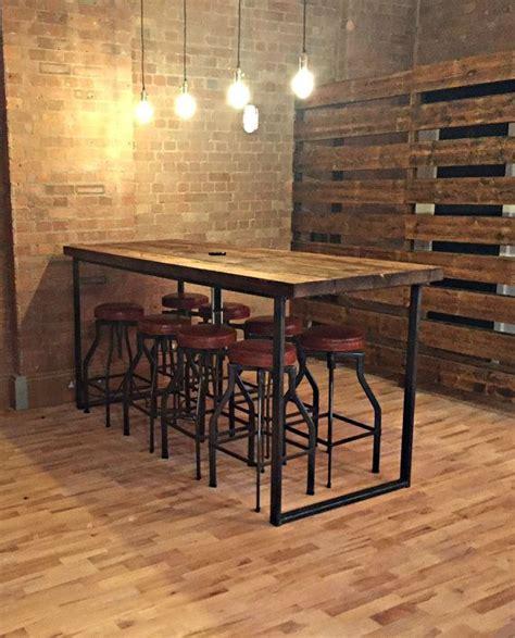 wood restaurant tables best 25 bar tables ideas on bar table and
