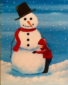 paint nite snowman 1000 images about winter paintings inspiration on