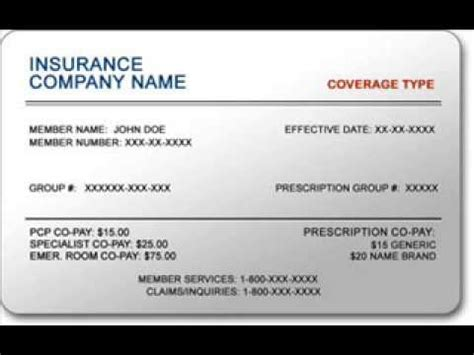 make insurance card insurance cards for small business