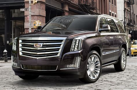 Chevrolet And Cadillac by 2017 Cadillac Escalade Overview Cargurus