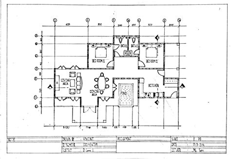 draw a floor plan assignment 4 multi view drawing plan vincentlunia