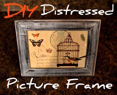 shabby chic picture frames diy easy diy shabby chic picture frame tutorial tip junkie