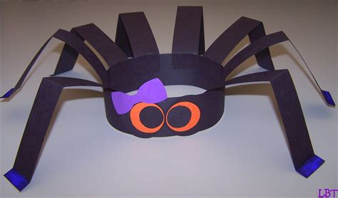 spider crafts for lbt spider hat another and easy craft
