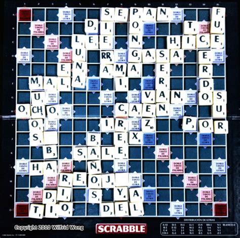 We Played Scrabble In Jugamos Scrabble En
