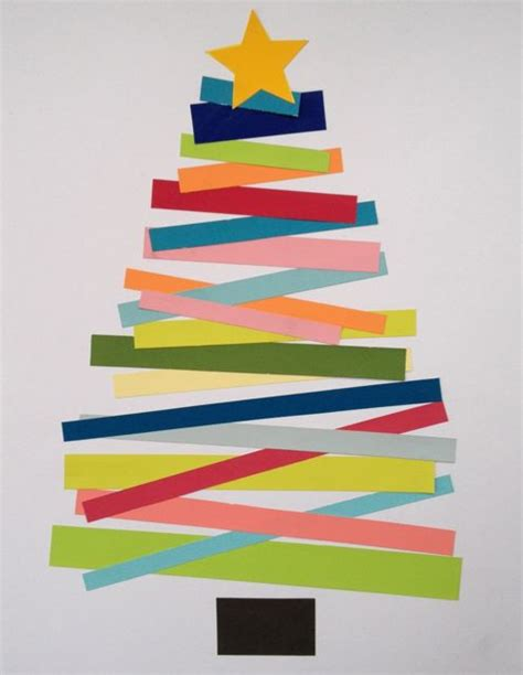 tree paper craft 12 days of crafts for blissfully domestic