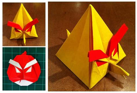 origami angry birds dong on quot origami angry birds one of