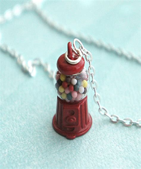 gumball necklace gumball machine necklace