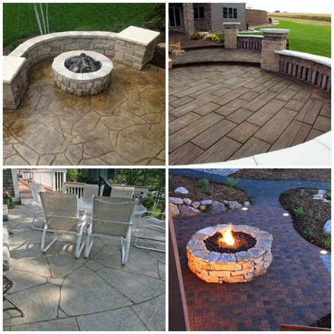 outdoor concrete patio designs 24 amazing sted concrete patio design ideas