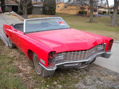 67 Cadillac Convertible by Seller Of Classic Cars 1967 Cadillac Convertible