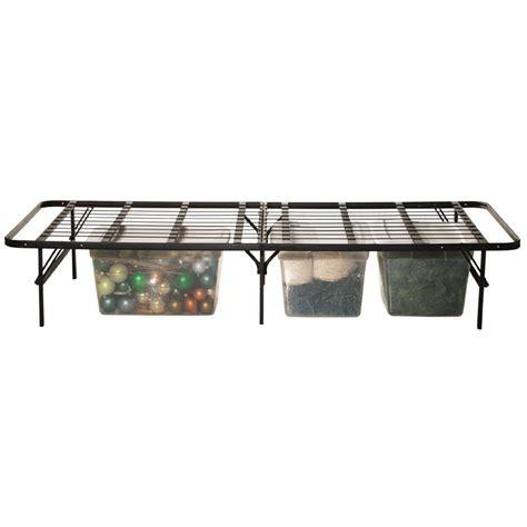 high bed frame 14 quot high folding metal bed frame bi fold platform bed