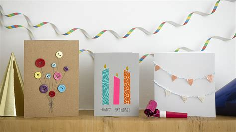 ways to make a birthday card 15 easy way to make your own birthday card ideas 2016