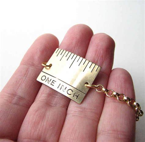 1 inch of hair one inch ruler bracelet hair stylists friend jewelry