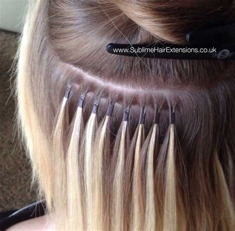 micro extensions micro ring hair extensions technique advantages and methods