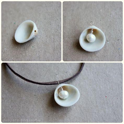 how to make seashell jewelry best 25 seashell necklace ideas on mermaid