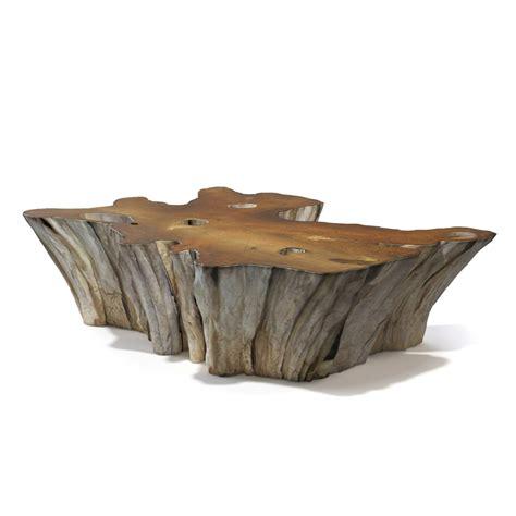 root coffee table 3d teak root coffee table