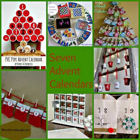 calendar craft for 7 advent calendar crafts