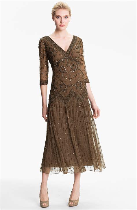 pisarro nights beaded mesh dress pisarro nights beaded lace gown in black slate save 26