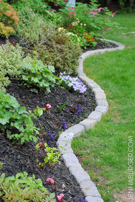 rocks for garden edging garden edging how to do it like a pro