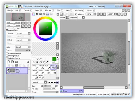 paint tool sai v1 2 0 painttool sai 1 2 5 filehippo