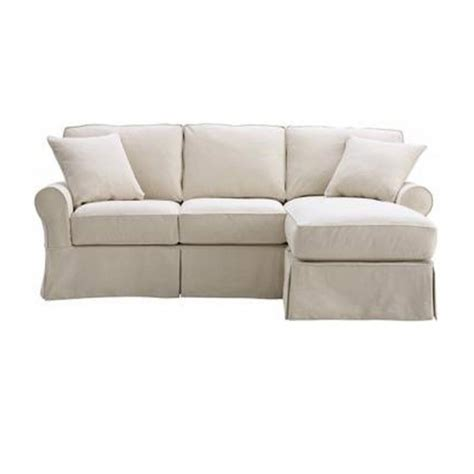 slipcover sofa with chaise slipcovered sofa with chaise chaise design