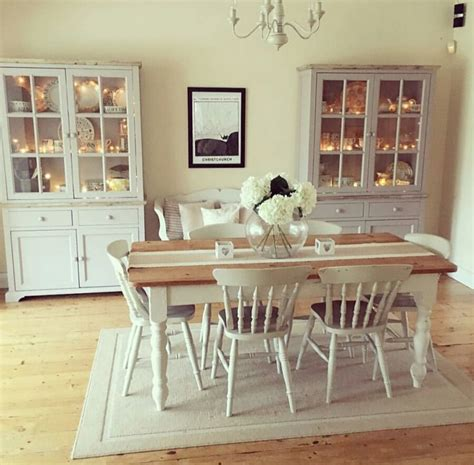 kitchen table in living room best 20 shabby chic dining ideas on shabby