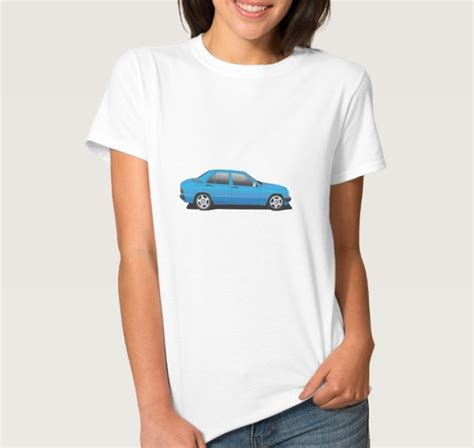 Mercedes Shirts And Clothing by Mercedes W201 190 T Shirt Car Illustrations