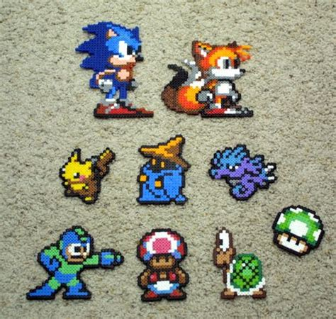 perler bead projects my projects