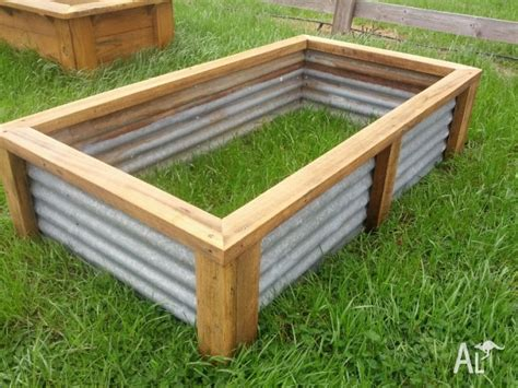 Raised vegetable garden bed planter box recycled materials for Sale in BEECHWORTH, Victoria