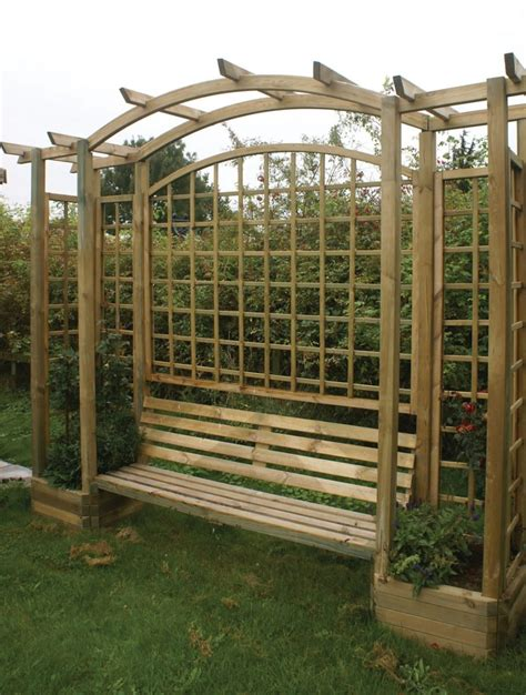 garden bench with trellis 45 garden arbor bench design ideas diy kits you can