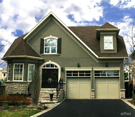 exterior house paint colors with black trim exterior