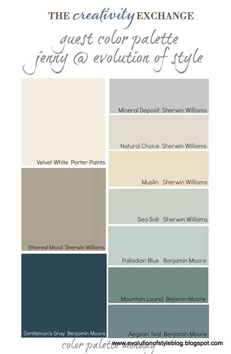 paint colors for benjamin our paint colors evolution of style