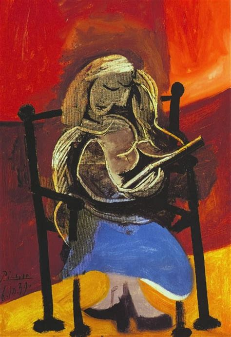 picasso paintings reading pablo picasso reading 1939