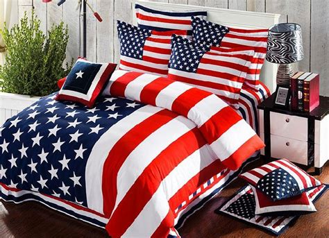 american bedding sets american flag bedding set striped duvet cover bed sheets