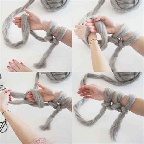 knitting tutorial 25 best ideas about arm knitting tutorial on