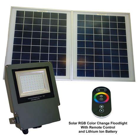 led solar flood light solar grey color led changing outdoor flood light with