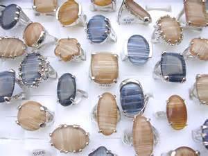 gemstone wholesale canada 25 pcs wholesale rings bulk lot gemstone seashell cheap
