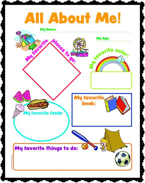 all about me crafts for 9 best images of craft all printables free all about me