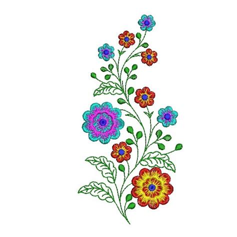 flowers designs flower plant embroidery designs embroideryshristi