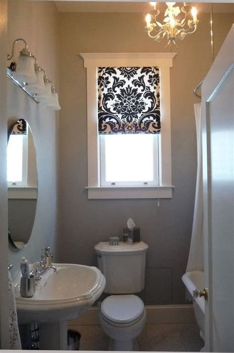bathroom curtain ideas for windows 23 bathrooms with shades messagenote