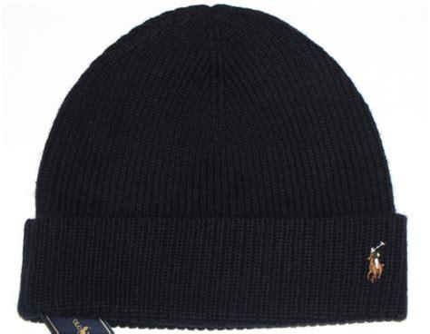 polo knit hats nwt polo ralph mens knit hat skull beanie navy blue