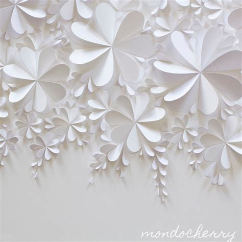 white craft paper a small bite of mondocherry white on white