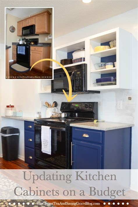 kitchen cabinets on a budget how to update kitchen cabinets on a budget sweet tea
