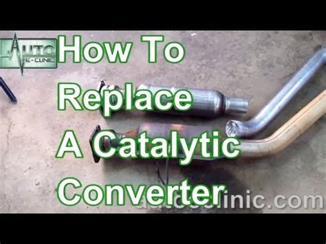 Signs Of A Bad Cadillac Converter by How To Replace A Catalytic Converter Chrysler Town