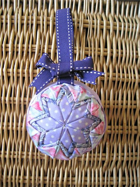 how to sew ornaments no sew quilted ornament