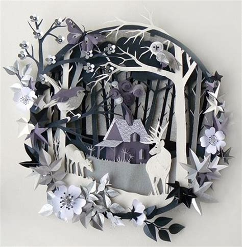 3d craft paper 3d paper cutting designs and ideas chilli