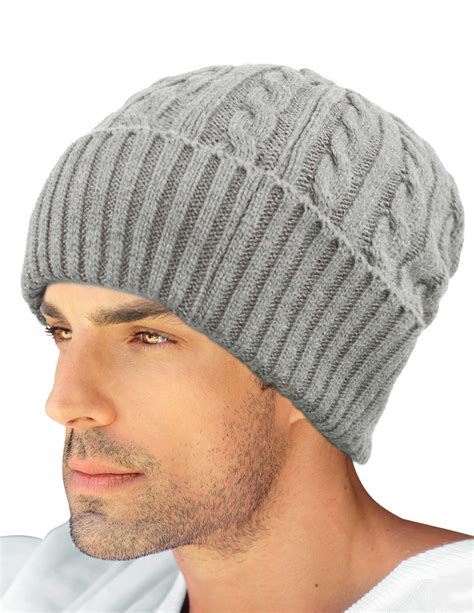 mens cable knit beanie dahlia s cable knit wool blend winter beanie hat