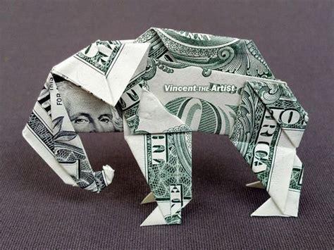 dollar origami elephant dollar bills origami and origami animals on