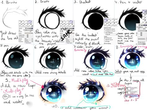 drawing with paint tool sai tutorial tutorial by kirimimi on deviantart
